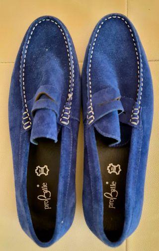 Zapatos de Baile de Salón Hombre Probaile Azul