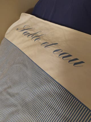 Funda nórdica y sábana de colchón