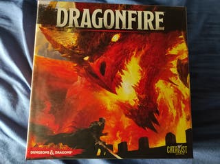 Dragonfire + 4 Expansiones. Reglas Español