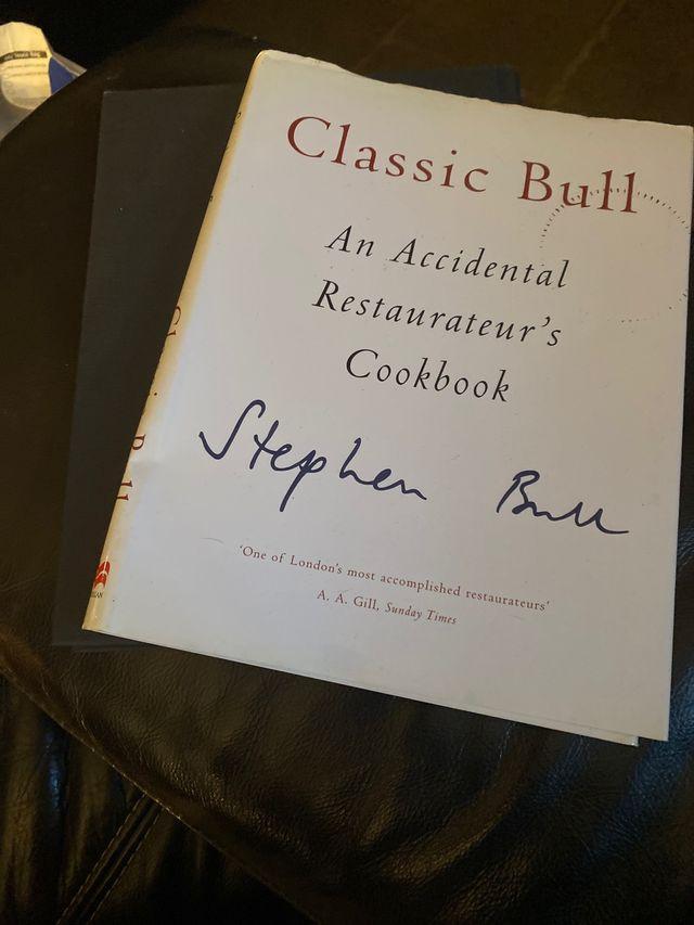 Classic bull by Stephen bull
