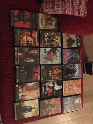 Dvd acción 17 películas