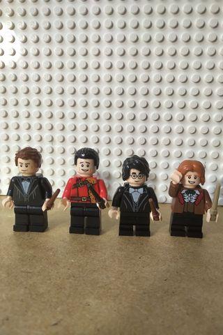 Minifigura Yulle Ball Lego Harry Potter
