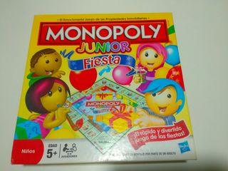 Juego Monopoly Junior Fiesta