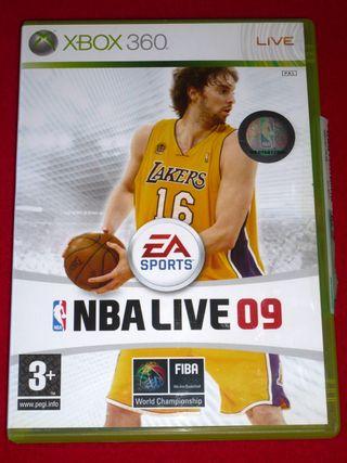 NBA LIVE 09 para XBOX 360