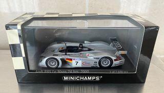 Audi R8S 24h Le Mans 1/43 Minichamps