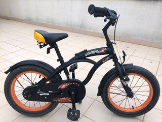 Bicicleta cruiser infantil 16 pulgadas bikestar