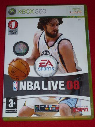 NBA LIVE 08 para XBOX 360