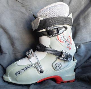 Botas de esquí travesía/pista chicaN37