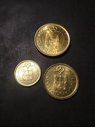 Monedas Portugal 1989/1990 SC