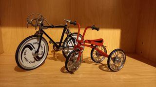 Maquetas Bicicleta y Triciclo