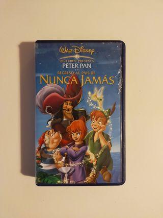 Peter Pan en Regreso al país de Nunca Jamás VHS