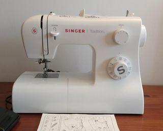 Singer 2282 Tradition - Máquina de coser mecánica,