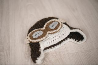 Gorro de lana aviador