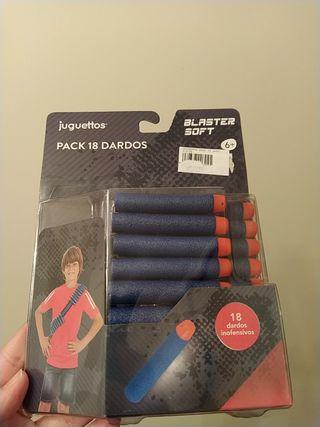 pack de dardos blaster soft