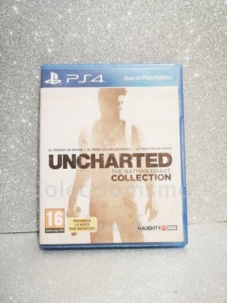 Juego Ps4 Uncharted Collection Coleccionista