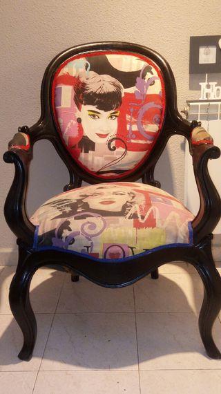 silla barroca