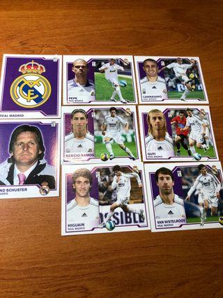 Packs 8 cromos Real Madrid 2007/2008