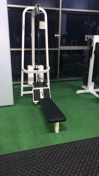 Maquinas de gimnasio salter ortus tecnogym