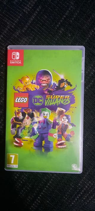 Lego DC Super Villanos Nintendo Switch