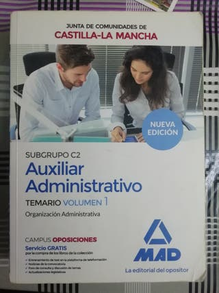 Auxiliar administrativo. Castilla-La Mancha