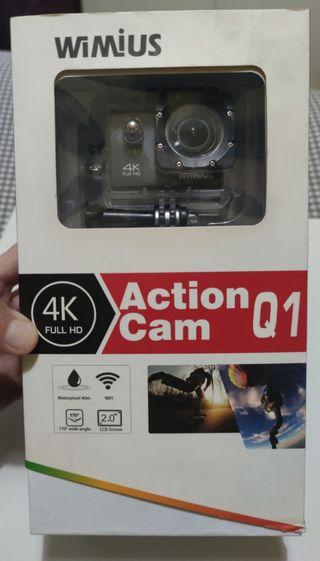 cámara wimius 4K FULl HD, WIFI