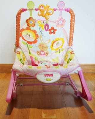 "mecedora ""crece conmigo"" Fisher price"