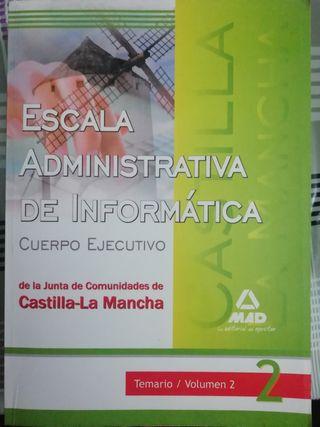 Escala administrativa de informática.