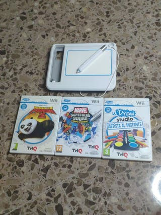 pack juego wii