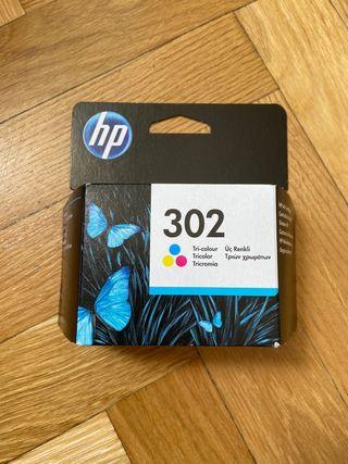 Cartucho tinta impresora HP 302 Tricolor