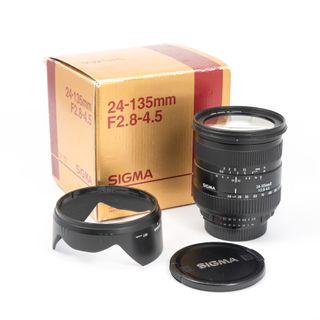 SIGMA 24-135mm2.8-4.5D Nikon AF