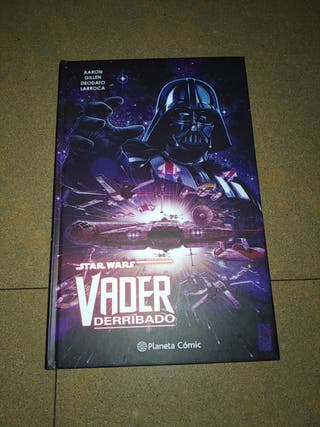 Comic Star Wars Vader Derribado