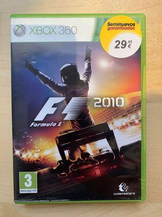F1 2010 de Xbox 360
