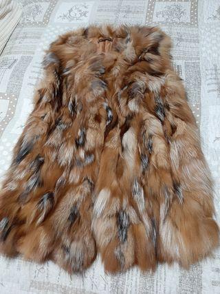 Caleco de piel de zorro