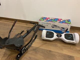 Hoverboard y kart SmartGyro