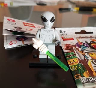 lego classic alien serie 6 original