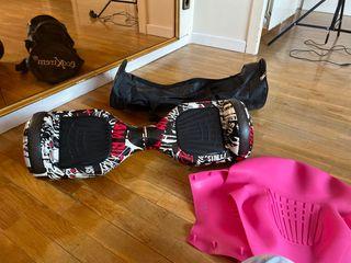 Hoverboard con una vez de uso