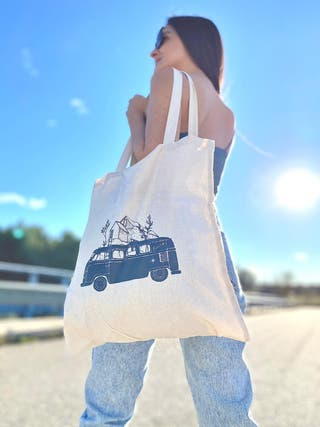 Bolsa de algodón orgánico - Camper