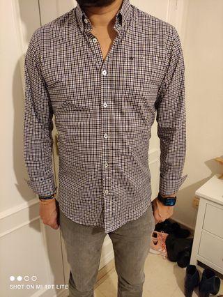 camisa hombre Roberto verino
