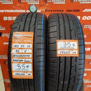 Neumaticos 185 55 15 82V Bridgestone . Ref 19405