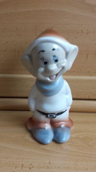 Figura de porcelana Enano Mudito Disney