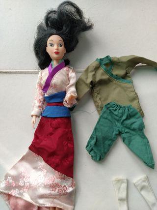 muñeca juguete Mulan