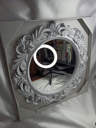Espejo de Pared Barroco Redondo 54 cm