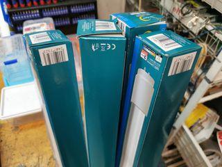 4 Fluorescentes normales 36W 120cm
