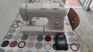 maquina de coser eléctrica zigzag