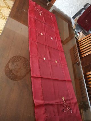 mantel tapete camino de mesa