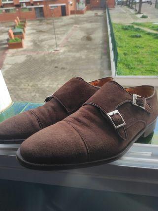 Zapato doble hebilla Scalpers