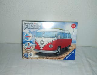 Puzzle 3D sin abrir furgoneta Volkswagen