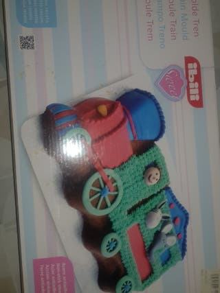 molde para tartas tren