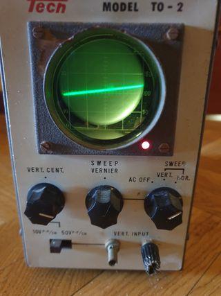 Osciloscopio Tech TO - 2
