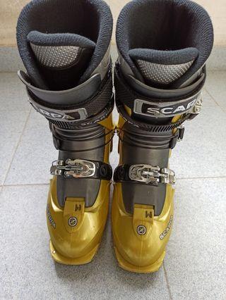 bota esquí de travesía scarpa flash eco. 26,5.